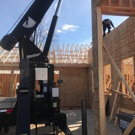 Home Construction Hoisting