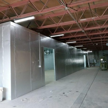 Large Produce Cold Storage Room