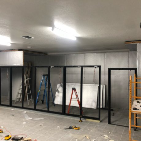 Build out of 20 Door Walk-in Cooler with Beer Cave